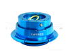 NRG Quick Release Gen 2.8 (New Blue Body w/ Diamond cut ring) SRK-280NB - Drive NRG
