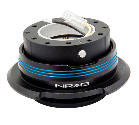 NRG Quick Release Gen 2.9 (Black Body w/ Black Blue Ring) SRK-290BK-BK/BL