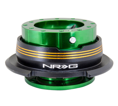 NRG Quick Release Gen 2.9 (Green Body w/ Black Chrome Gold Ring) SRK-290GN-BK/CG