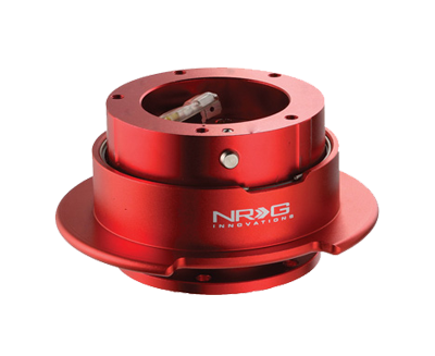 NRG Quick Release Gen 2.5 (Red Body w/ Red Ring (5hole)) SRK-350RD - Drive NRG