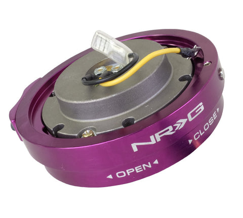 NRG SRK-400PP: Thin Version Quick Release Kit (Purple)