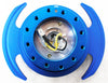 NRG Quick Release Gen 3.0 (New Blue Body w/ New Blue Ring) SRK-650NB - Drive NRG