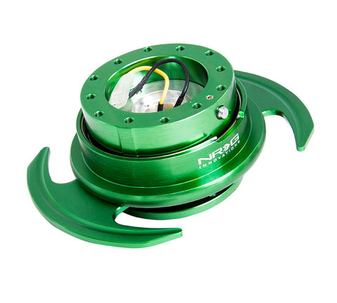 NRG Quick Release Gen 3.0 (Green Body w/ Green Ring) SRK-650GN