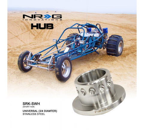 "NRG Short Hub for Universal Application 3/4"" Shaft"