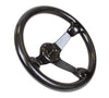 NRG ST-036CF: 350mm Carbon Fiber Steering Wheel Deep Dish - Drive NRG