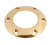 NRG Chrome Gold Steering Wheel Horn Button Ring - Drive NRG