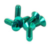 Steering Wheel Screw Kit (Green) - Drive NRG