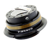 NRG Quick Release Gen 2.9 (Black Body w/ Black Chrome Gold Ring) SRK-290BK-BK/CG - Drive NRG