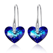 Truly in Love Heart Drop Earrings Women
