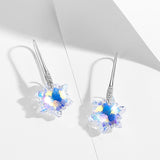 Edelweiss Crystal Dangle Earrings
