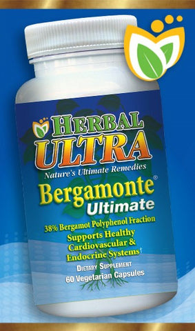 Bergamonte® Ultimate 38% Bergamot Polyphenolic Fraction Support Healthy Cardiovascular & Endocrine Function