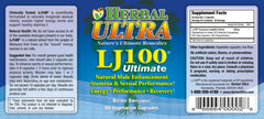 LJ100 Ultimate - Support Healthy Levels of Free Testosterone, Libido, Energy and Muscle Mass 100% Natural