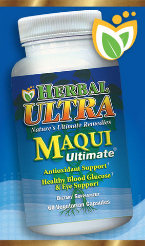 Maqui Ultimate - Premium Antioxidant, Immune and Inflammation Support.  Support Healthy Eye Function