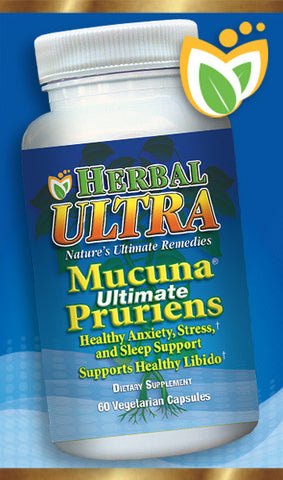 Mucuna Pruriens  -  Natural Source of L Dopa,  60%,  Anxiety,  Stress and Mood Support.  Healthy Muscle Relaxation