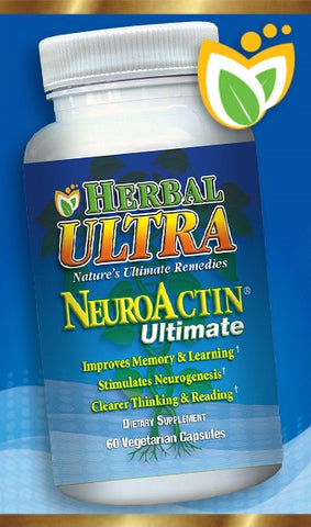 NeuroActin Ultimate - Support Healthy Brain, Memory Function and Cognitive Response
