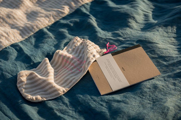 The AllSwell Creative Notebook X Brooklyn Beach Blanket Set
