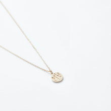 Load image into Gallery viewer, V2 SMALL GOLD COIN NECKLACE