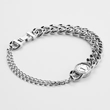 Load image into Gallery viewer, NO.5 HOLLOW COIN ANKLET - WHITE