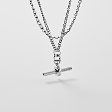 Load image into Gallery viewer, AVIROD DOUBLENESS CLASSIC ROWING NECKLACE