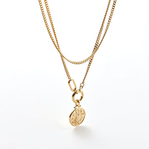 SOVEREIGN COIN DOUBLENESS NECKLACE