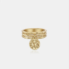 Load image into Gallery viewer, RE-CO'DE V2 INDIVIDUAL COIN RING - YELLOW