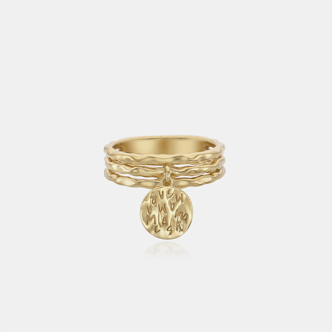 RE-CO'DE V2 INDIVIDUAL COIN RING - YELLOW