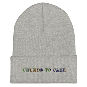 Crumbs To Cake Multi Colored Cuffed Skully