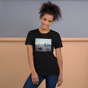 'Melting Pot' Short-Sleeve Woman's T-Shirt