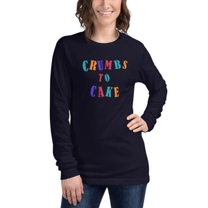 CTC Multi Colored Long Sleeve Tee - Crumbs to Cake