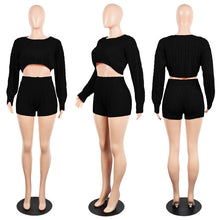 Load image into Gallery viewer, Women Knitted Sweater Two Piece Set