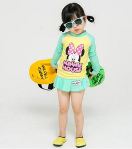 Girls Cartoon Character Swim Sets