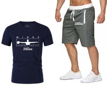 Load image into Gallery viewer, Wings T Shirts+Shorts Set