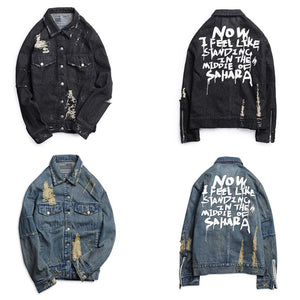 Men's Denim Fashion Jacket