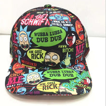 Load image into Gallery viewer, Rick and Morty Character Children's Baseball Cap