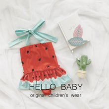 Load image into Gallery viewer, Cute Baby Girl One Piece Watermelon Swimsuit