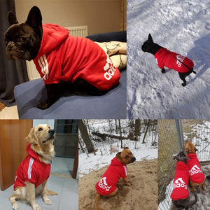 Pet Dog Clothes For Large Dogs French Bulldog Dog Hoodies Winter Clothes