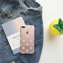 Load image into Gallery viewer, Cute Polka Dot  phone Cases For iphone