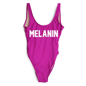MELANIN One Piece Swimsuit