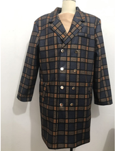 Load image into Gallery viewer, Men's Wool Trench Coat