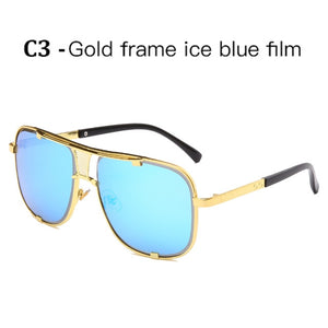 Classic Oversized Men Sunglasses Luxury Brand