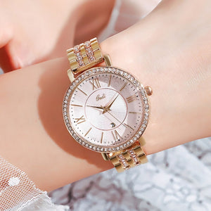 Fashion Rose Gold Women Watch