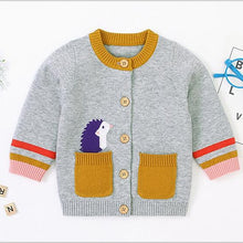 Load image into Gallery viewer, 2020 New Autumn  Baby Boys Girls Knitted Cardigan Jacket
