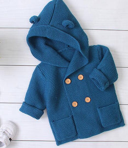 2020 New Autumn  Baby Boys Girls Knitted Cardigan Jacket