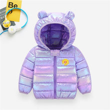 Load image into Gallery viewer, Cute Children's Down Padded Jacket