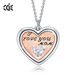 Luxury Necklace with Crystal from Swarovski Heart Pendant