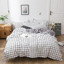 Load image into Gallery viewer, Fashion Brand Coffee Letter Printed Bedding Set