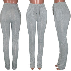 Stacked Joggers Sweatpants