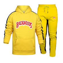 Load image into Gallery viewer, Fashion Streetwear Backwoods Hoodie Set