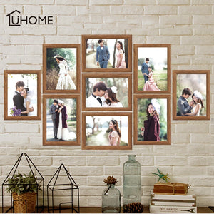 9Pcs Photo Frame Set