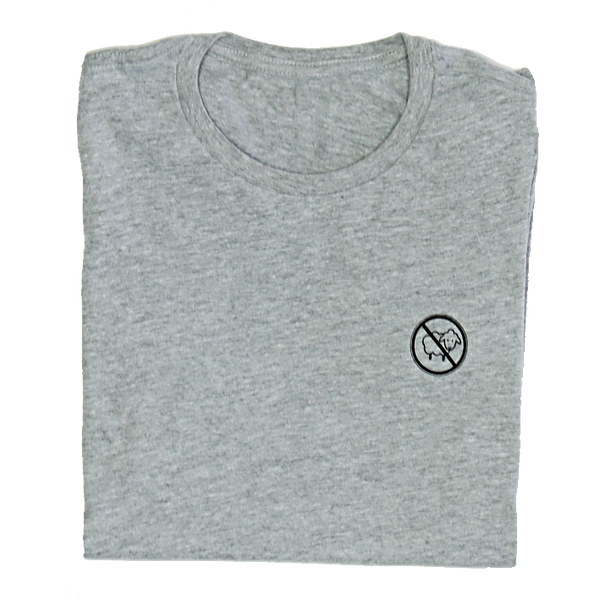 """No sheep"" fitted T-shirt (Women's)"